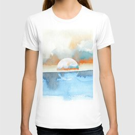 Orange Sea Drop T-shirt