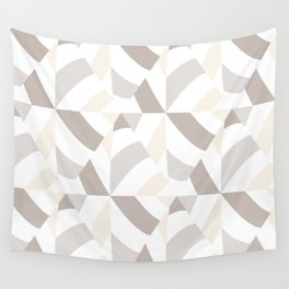 Geometric natural Wall Tapestry