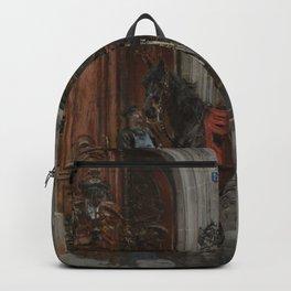 The Dispatch Bearer - Giovanni Boldini Backpack
