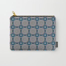 Hypnotic Blue Carry-All Pouch