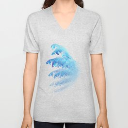 Blue wings Unisex V-Neck