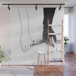 Souls talks first. Wall Mural