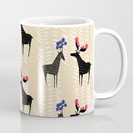 Deers with fancy horns Coffee Mug