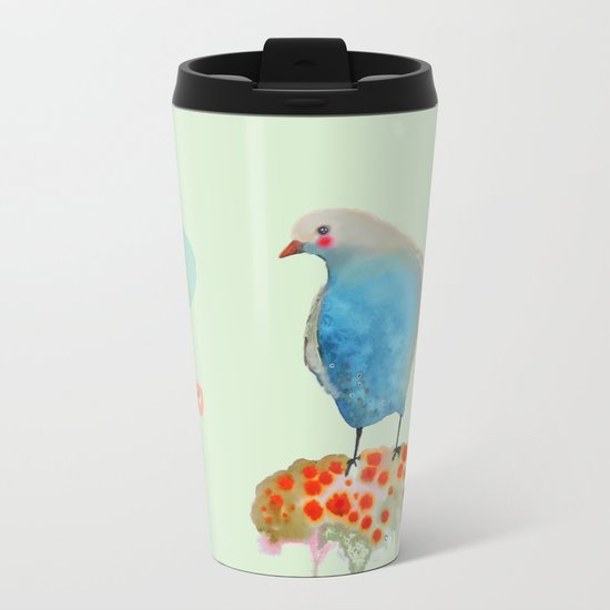 intermède Metal Travel Mug