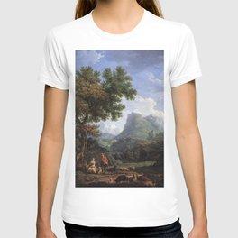 Claude-Joseph Vernet - The Shepherdess in the Alps T-shirt