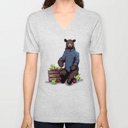 Bears, Beets, Battlestar Galactica Unisex V-Neck