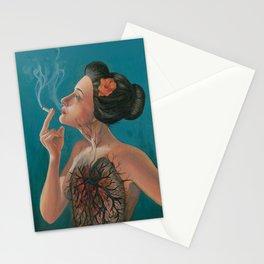 Smoking Hot Mess Stationery Cards