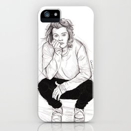 Cute Harry iPhone Case