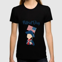US flag held high for those who died - Patriot Day - September 11 T-shirt
