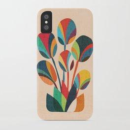 Ikebana - Geometric flower iPhone Case