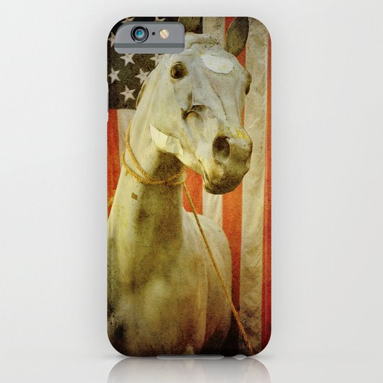 Portrait of an American Horse iPhone & iPod Case