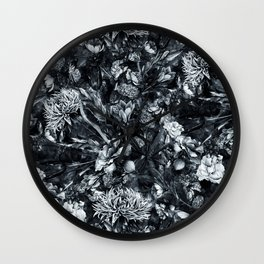 Darkness II Wall Clock