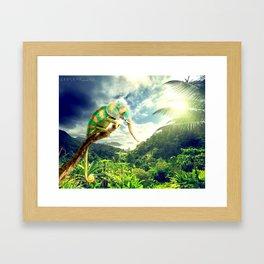 cameleophant Framed Art Print
