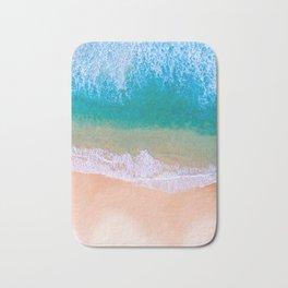 Ariel Beach Scene Bath Mat