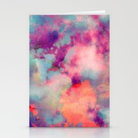 cloud Stationery Cards featuring Untitled 20110625p (Cloudscape) by tchmo