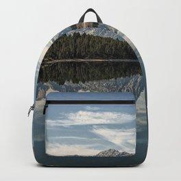 Image USA Oxbow Bend Grand Teton Wyoming Nature mountain Lake Parks Mountains park Backpack