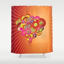 Herzen Shower Curtain