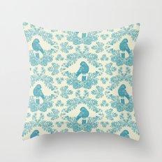 Mexican Parrot Throw Pillow
