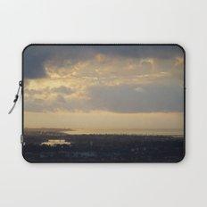 Sunrise Over South Long Beach Laptop Sleeve