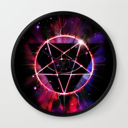 The Wrong Constellation Wall Clock