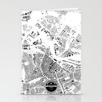 amsterdam Stationery Cards featuring AMSTERDAM by Maps Factory