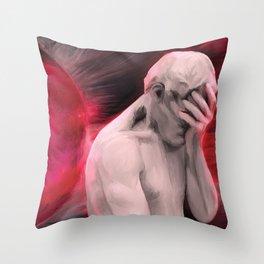 Repentant Man Throw Pillow