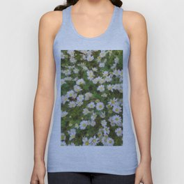 Daisies In Spring Unisex Tank Top
