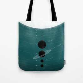 The Worlds (Aqua) Tote Bag
