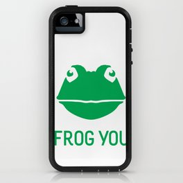 Frog You iPhone Case