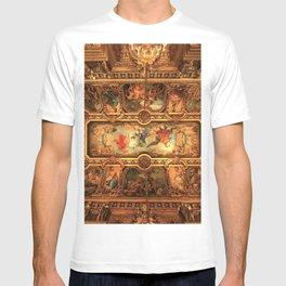 Midnight with Botticelli, Raphael, Michelangelo, & Perugino, Sistine Chapel, Rome T-shirt
