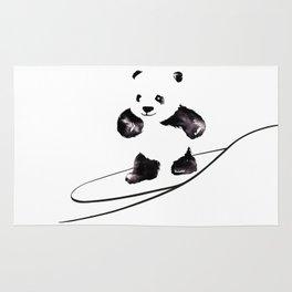 Surfing Panda Rug