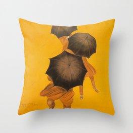 Parapluie Revel Throw Pillow