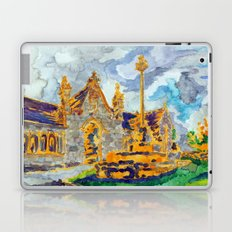 with a cat's company Laptop & iPad Skin
