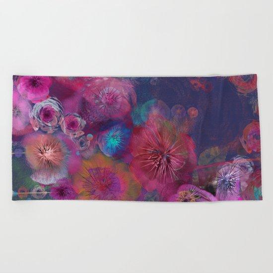Flower carpet(59) Beach Towel