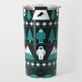 Paranormal Xmas Travel Mug