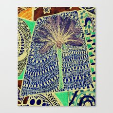 Jardin 4 Canvas Print