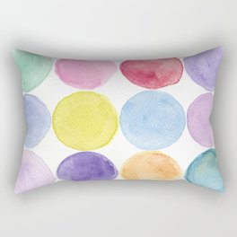 dotted and well organized Rectangular Pillow