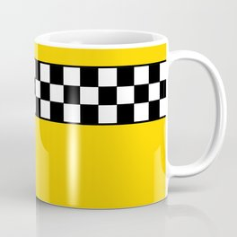 NY Taxi Cab Cosplay Coffee Mug