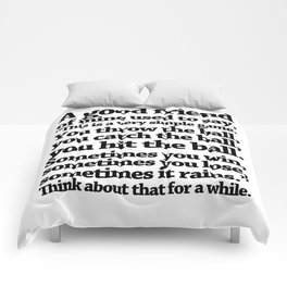 quoting Hollywood 16 Comforters