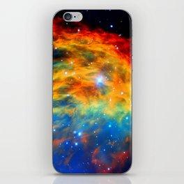 Rainbow Medusa Nebula iPhone Skin