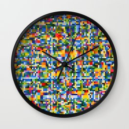 Dancing Star Detail Wall Clock