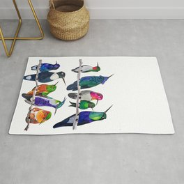 Hum if you Don't Know the Birds Rug