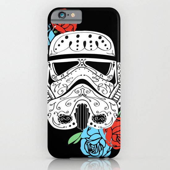 Storm Trooper Dia De Los Muertos iPhone & iPod Case