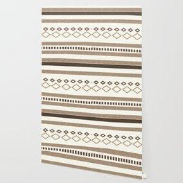 Western Pattern, Out West, Patterns, Brown, Tan, Beige, Shapes, Geometric Western Art Wallpaper