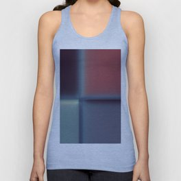 Abstract Blurred Block Pattern Design Unisex Tank Top