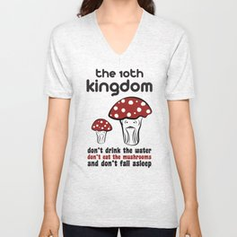 The 10th Kingdom: The Mushrooms Unisex V-Neck