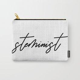 Steminist Handwritten Steminism Scientist Carry-All Pouch