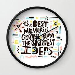 Craziest ideas Wall Clock