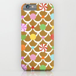 Gingerbread House Roof iPhone Case
