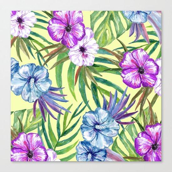 Tropical Summer #3 Canvas Print